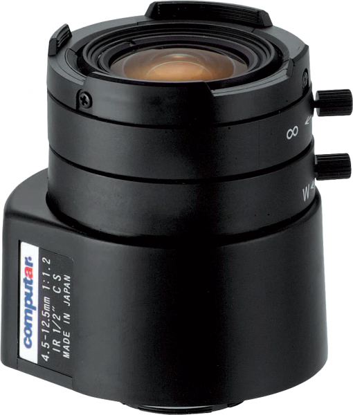 4,5 - 12,5 mm  CS-Mount Computar Objektiv HG3Z4512FCS-IR DC