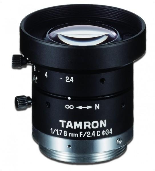 6 mm C-Mount Objektiv Tamron M117FM06-RG / F2,4, 2,4µm