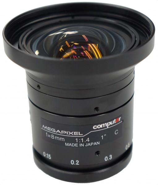8 mm C-Mount Objektiv Computar V0814-MP