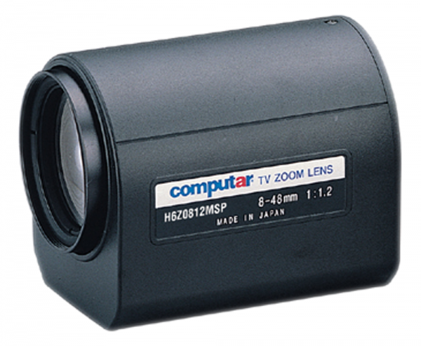 8 - 48,0 mm C-Mount Computar Motor Zoom Objektiv H6Z0812MSP