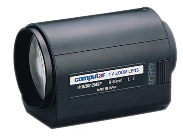 8 - 80,0 mm C-Mount Computar Motor Zoom Objektiv H10Z0812MSP