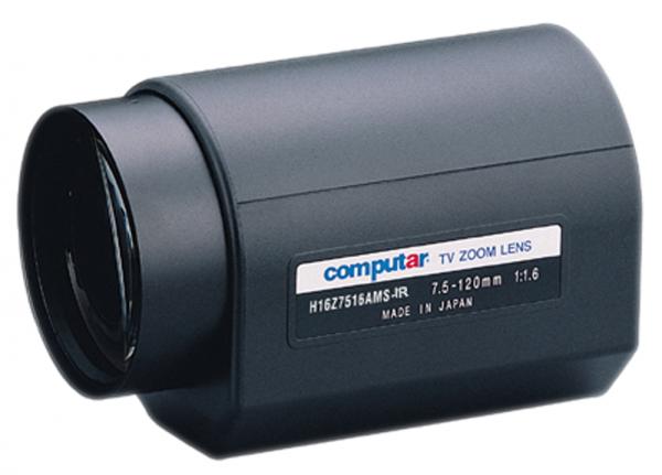 7,5 - 120,0 mm C-Mount Computar Motor Zoom Objektiv H16Z7516AMS-IR