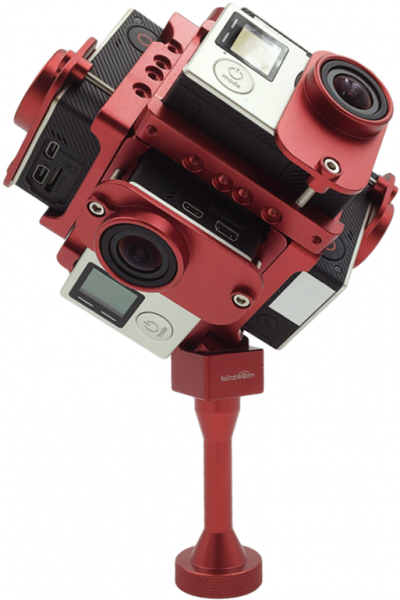GP6 VR 360° GoPro Panorama Mount