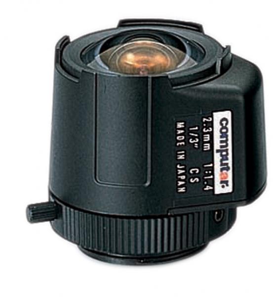 2.3 mm CS-Mount Computar Objektiv TG2314FCS DC