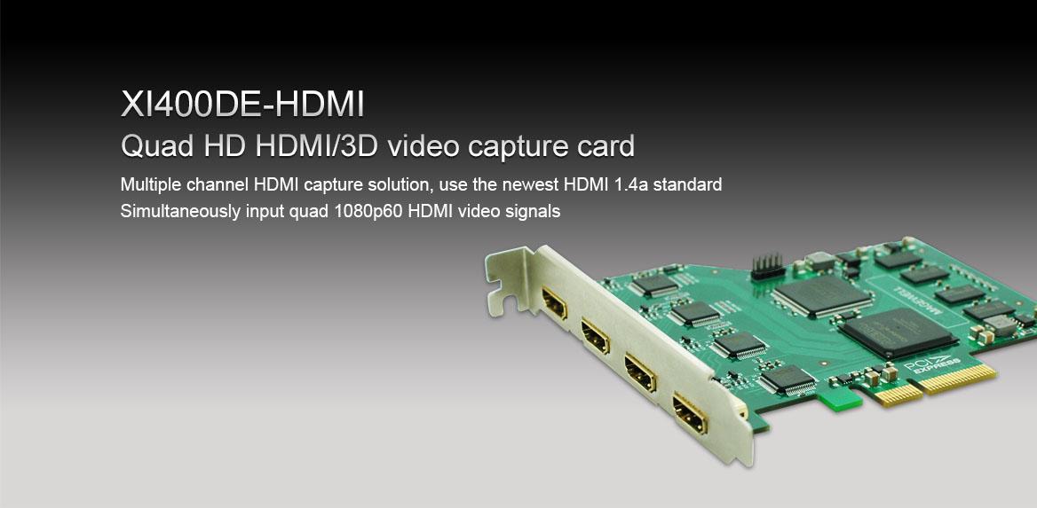 XI400DE-HDMI-E