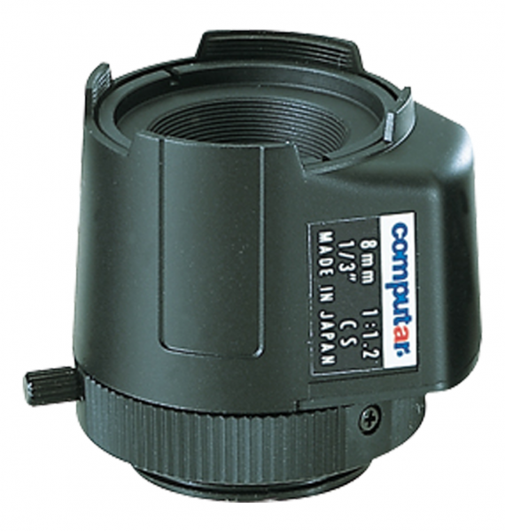 8,0 mm CS-Mount Computar Objektiv TG0812FCS DC