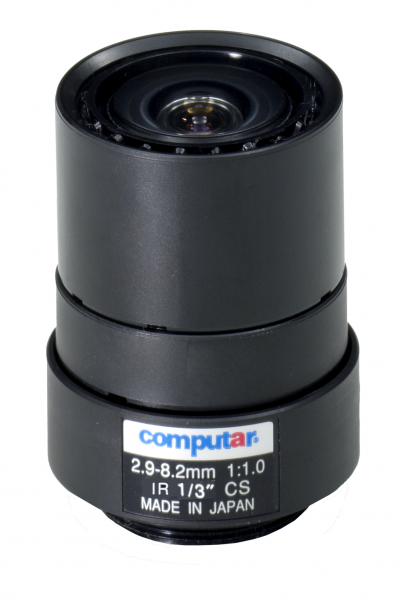 2,9 - 8,2 mm CS-Mount Computar Objektiv T3Z2910CS-IR