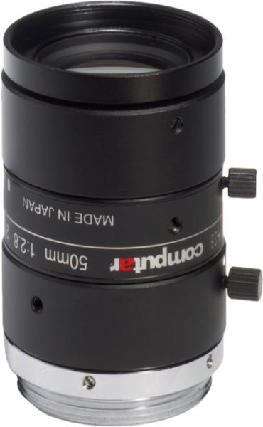 50 mm C-Mount Computar 5 Megapixel Objektiv M5028-MPW2