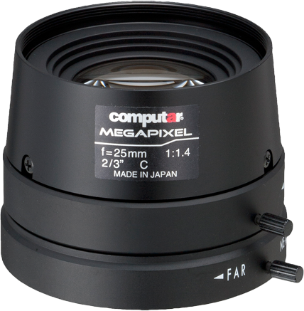 25 mm C-Mount Computar Objektiv M2514FIC-MP