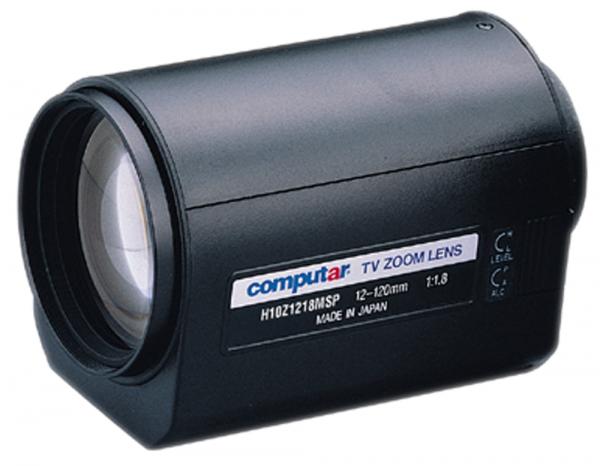 12 - 120,0 mm C-Mount Computar Motor Zoom Objektiv H10Z1218MSP