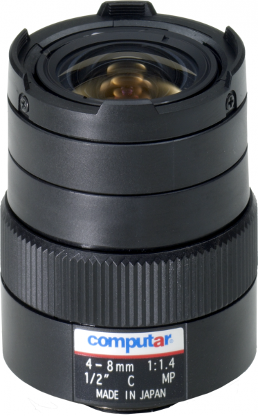 4,0 - 8,0 mm C-Mount Computar Objektiv H2Z0414C-MP