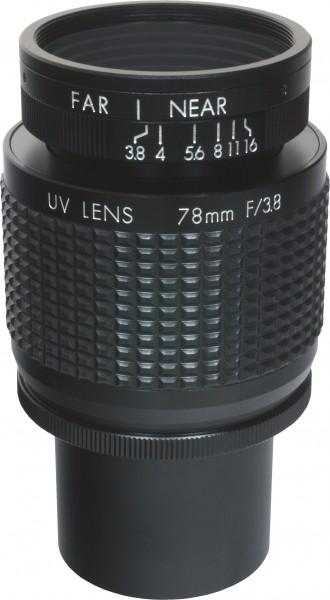 78 mm C-Mount Objektiv Pentax C91698 / Ricoh FL-BC7838-VGUV