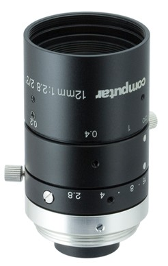 12 mm C-Mount 6MP Objektiv Computar M1228-MPW3