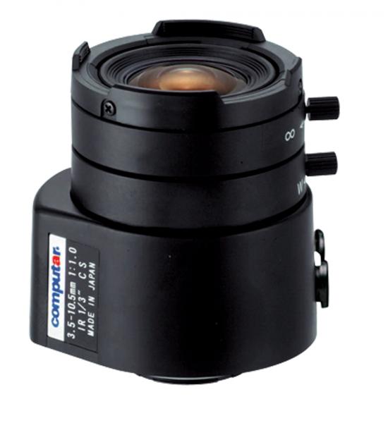 3,5 - 10,5 mm CS-Mount Computar Objektiv TG3Z3510AFCS-IR