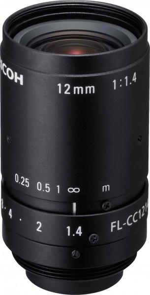 12 mm C-Mount Objektiv Ricoh FL-CC1214A-2M