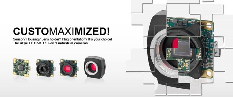Le Industrial industrial cameras vision dimension