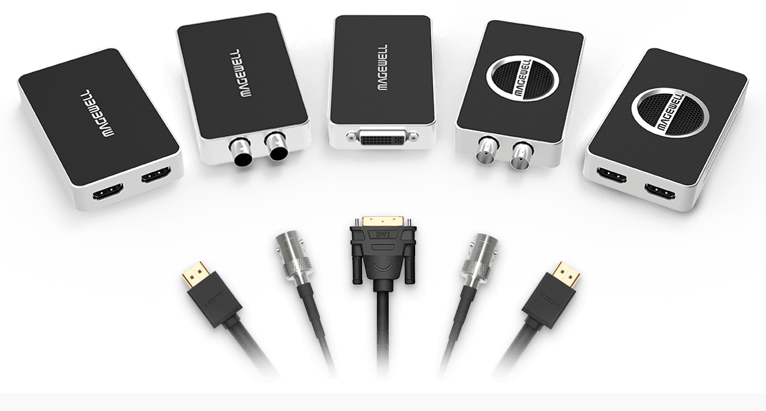 1_Magewell_USB-Capture-Family_Full-Range-of-Interface-Choices