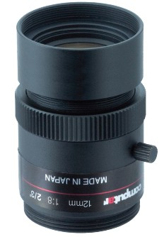 12 mm C-Mount Computar Objektiv M1280-MPW2-R Ruggedized