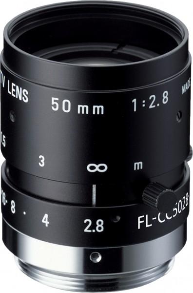 50 mm C-Mount Objektiv Pentax C5028-M (KP) /  Ricoh FL-CC5028-2M - 2.8 / 50mm