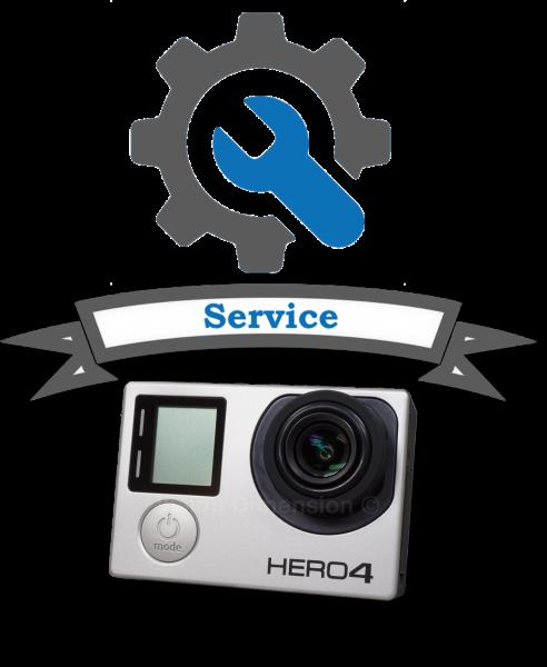 Umbau GoPro Hero 3+ oder Hero 4 BE inklusive MP10
