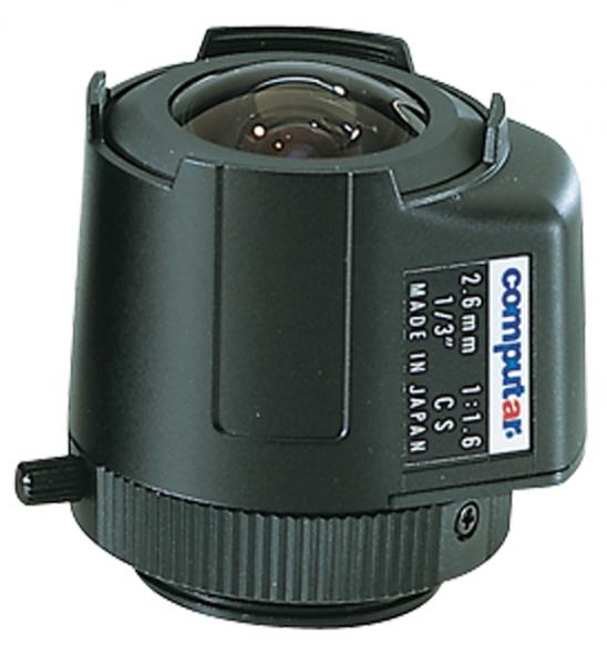 2,6 mm CS-Mount Computar Objektiv TG2616FCS DC
