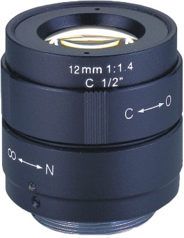 12mm C-Mount Objektiv 1/2""