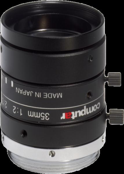 """35 mm C-Mount Computar 5 Megapixel Objektiv M3520-MPW2 5 M 2/3"""" F 2.0 - F22 mit ultra geringer Verzeichnung"""