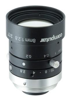8 mm C-Mount 6MP Objektiv Computar M0828-MPW3