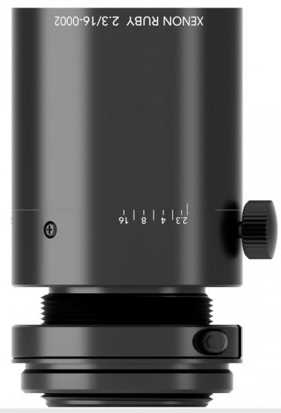 16 mm C-mount Schneider Kreuznach Objektiv Xenon-RUBY 2.3/16