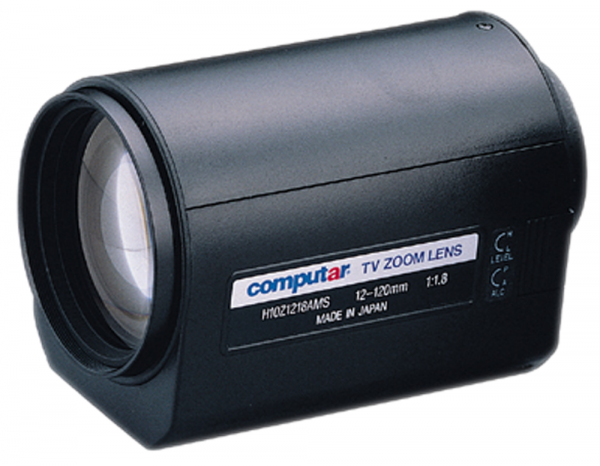 12 - 120,0 mm C-Mount Computar Motor Zoom Objektiv H10Z1218AMSP