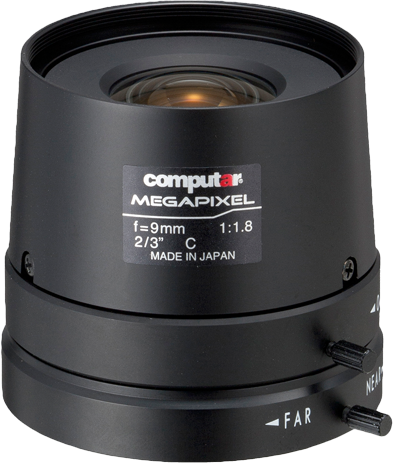 9 mm C-Mount Computar Objektiv M0918FIC-M