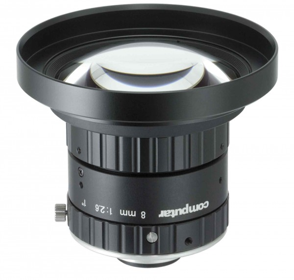 8 mm C-Mount 20MP Objektiv Computar V0826-MPZ