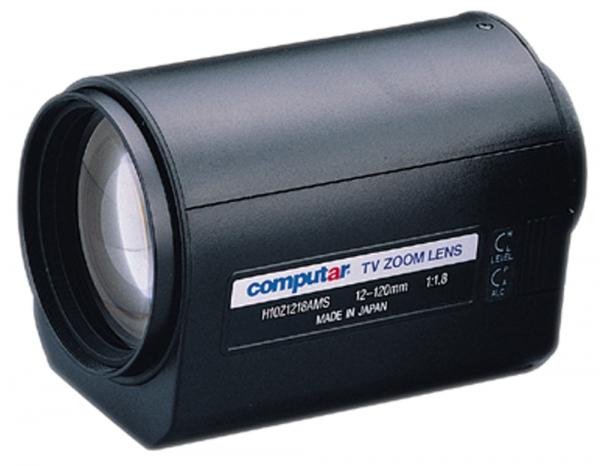 12 - 120,0 mm C-Mount Computar Motor Zoom Lens H10Z1218AMS