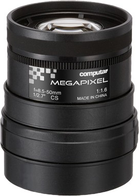 8,5 - 50 mm CS-Mount Computar 3MP Objektiv A6Z8516CS-MP