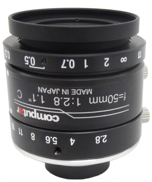 50 mm C-Mount 12MP Objektiv Computar V5028-MPY