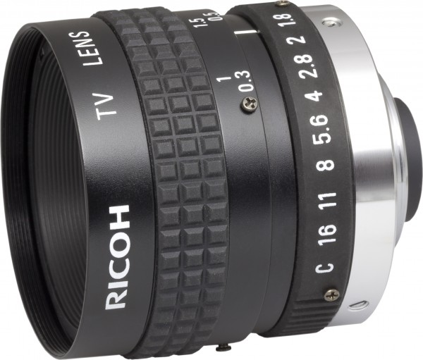 12,5 mm C-Mount Objektiv Pentax B1218A (KP) / Ricoh FL-BC1218A-VG - 1.8/ 12.5mm