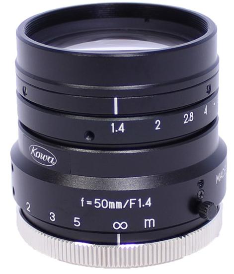 50 mm C-Mount Objektiv Kowa LM50HC