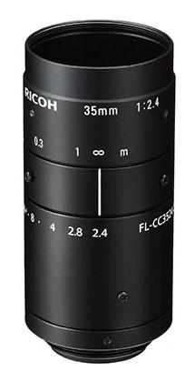 35 mm C-Mount Objektiv Ricoh FL-CC3524-5MX