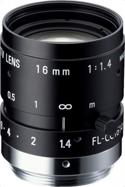 16 mm C-Mount Objektiv Pentax C1614-M (KP) / Ricoh FL-CC1614-2M - 1.4 / 16mm