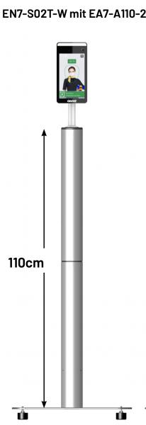 GANZ Bodenständer für EN7-S02T, 110cm