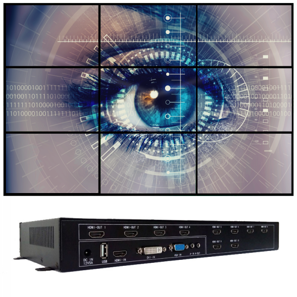 iVu9+ Video Wall Controller