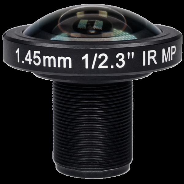 1,45mm Fisheye M12 Megapixel 4K Objektiv IR-CUT