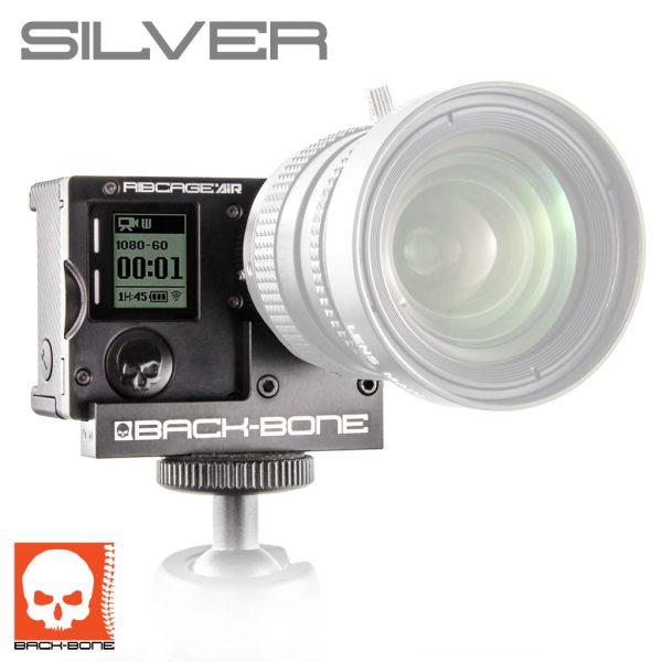 BACK-BONE RIBCAGE AIR MODIFIED HERO4 SILVER