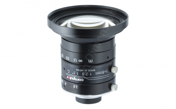 8 mm C-Mount 12MP Objektiv Computar V0828-MPY