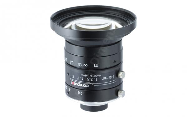 8 mm C-Mount 12MP Objektiv Computar V0828-MPY2