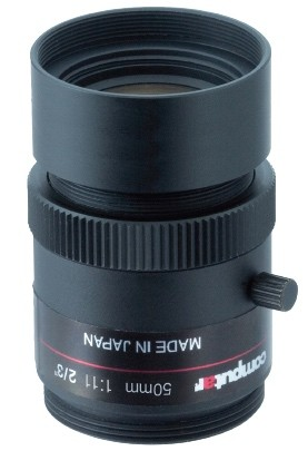 50 mm C-Mount Computar Objektiv M5011-MPW2-R Ruggedized