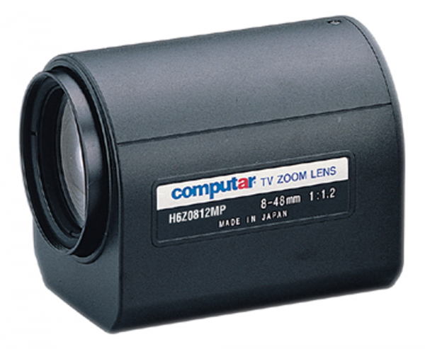8 - 48,0 mm C-Mount Computar Motor Zoom Objektiv H6Z0812MP