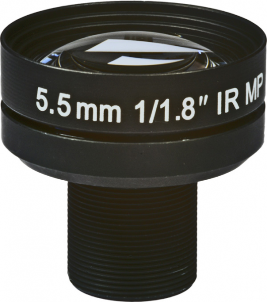 5,5mm Megapixel BOARD-LENS-IR BL-05518MP118IRLD
