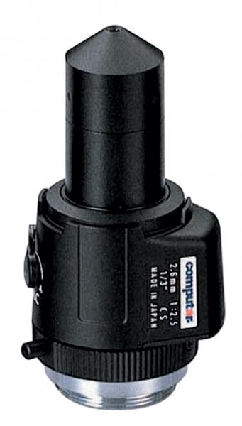 2,6 mm CS-Mount Computar Objektiv TG2625AFCS-P
