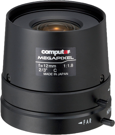 12mm C-Mount Computar Objektiv M1218FIC-MP
